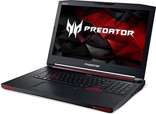 Acer Predator 17 (G9-793-70F3) 43,9 cm (17,3 Zoll Ultra HD IPS) Notebook (Intel Core i7-6700HQ, 32GB RAM, 512GB SSD, 1000GB HDD, Nvidia GeForce GTX 1070, DVD, Win 10 Home) schwarz