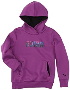 Puma FD TD HD Sweat fille Spark Grape FR : 10 ans (Taille Fabricant : 140)