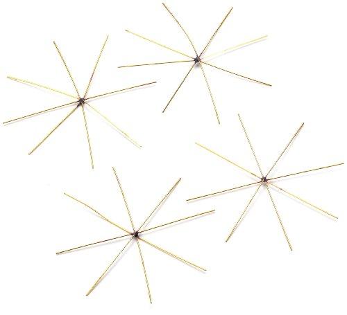 knorrprandell-4-piece-8-cm-wire-star-gold