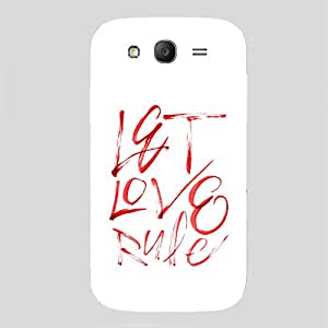 Back cover for Samsung Galaxy Grand Prime Let Love Rule