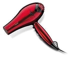 Andis 80435 Tourmaline Ionic/ceramic High Velocity Hair Dryer, Red