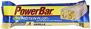 Powerbar Protein Plus 20g, Vanilla, 2.12-Ounce Bars (Pack of 15)