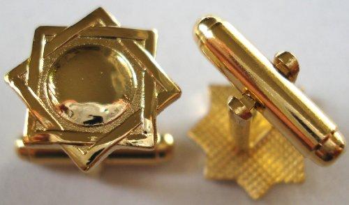 Seal of Melchezidek LDS Mormon Temple Symbol Cuff Links