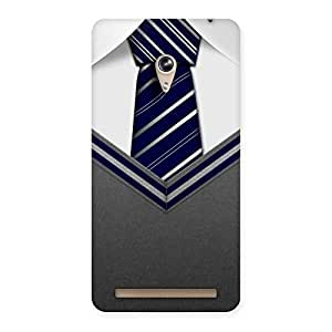 Impressive Decent Student Grey Back Case Cover for Zenfone 6