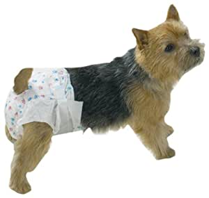Clean Go Pet Disposable Doggy Diapers, X-Large
