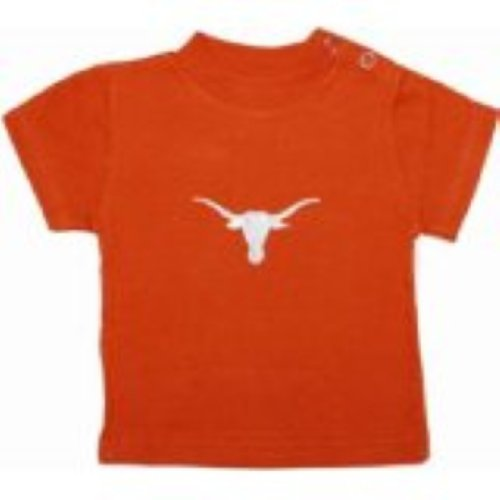 Creative Knitwear Ncaa College Toddler Baby T-Shirt Tee (4 Toddler, Texas Longhorns Orange)