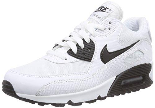 Nike Women's Air Max 90 Essential White/Black Running Shoe 9 Women US (Nike Women Air Max compare prices)