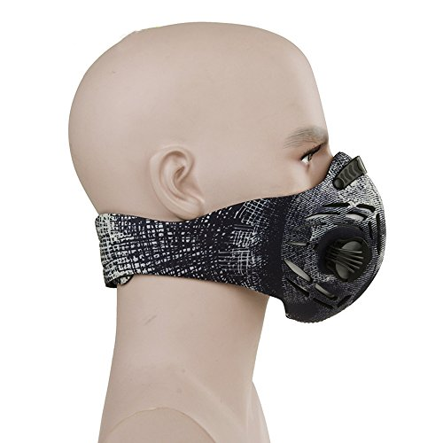 CFORWARD-Dustproof-Mask-Activated-Carbon-Filtration-Exhaust-Gas-Anti-Pollen-Allergy-PM25-Face-Mask-for-Running-Cycling-and-Other-Outdoor-Activities