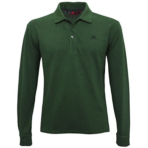 La polo Robe di Kappa - Rolden Co-wool - Green Pine - M