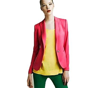 cnWay Elegant Women Blazer jacket Business Leisure Party Jacket