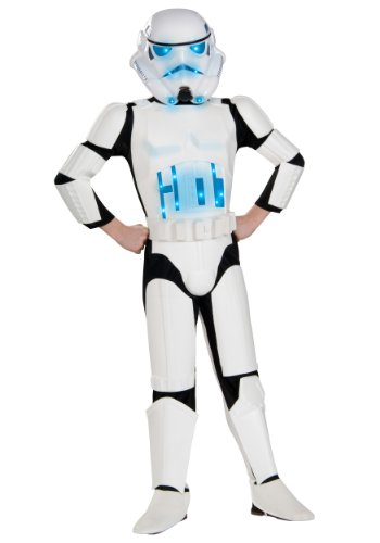 Big Boys' Light Up Stormtrooper Costume