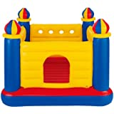 "Intex Jump O Lene Castle Inflatable Bouncer, 69"" X 69"" X 53"", for Ages 3-6"