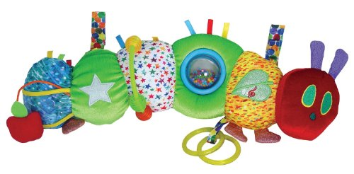 Eric Carle Baby Early Development Rattle Toys Multifunctional Plush Caterpillar Bed Hang Ring Bell front-523202