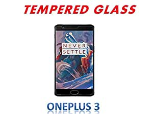 SEC 2.5D CURVE TEMPERED GLASS FOR ONEPLUS THREE, 1+3, ONEPLUS 3 (Pack of 1)
