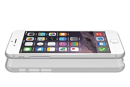 POWER SUPPORT エアージャケットセット for iPhone6(4.7inch)(クリアブラック) PYC-93 [フラストレーションフリーパッケージ(FFP)]