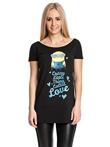 Minions Crazy Little Thing Called Love Maglia donna nero S