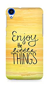 AMEZ enjoy the little things Back Cover For HTC Desire 820