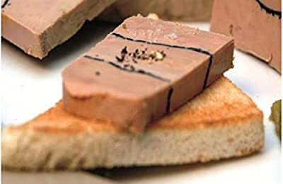 Rougie Whole Duck Foie Gras with Truffles, Millefeuille 17.6 Oz. from Rougie