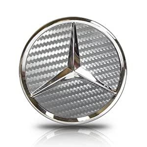 Mercedes benz gray carbon fiber textured wheel for Mercedes benz hat amazon