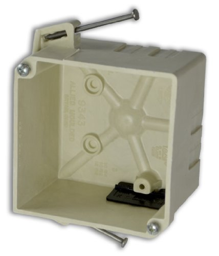 Allied Moulded H9343=Nk Square Junction Box
