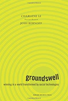 "Cover of ""Groundswell by Charlene Li and Josh Bernoff"