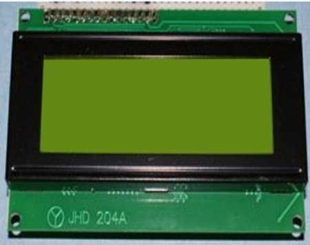 Lcd Module For Arduino 20 X 4, Black On Green