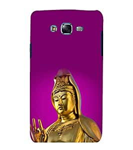 printtech Lord God Buddha Back Case Cover for Samsung Galaxy Core Prime G360