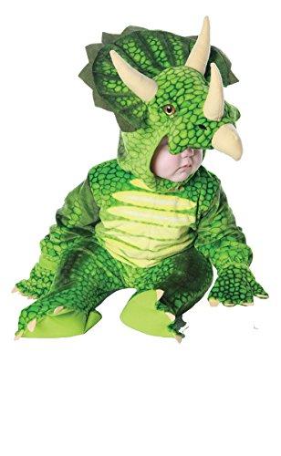 Baby's Triceratops Costume