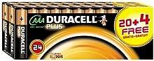 Comprar Duracell Plus - Pilas AAA (Paquete de 20 + 4 gratis)