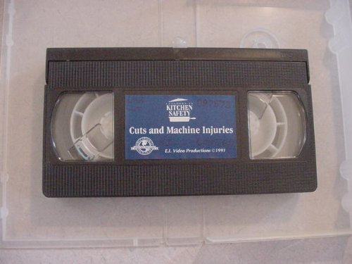 VHS Video Tape of Episodes in Kitchen Safety
