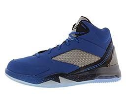 Jordan Men\'s Air Flight Remix, SPORT BLUE/BLACK-COOL GREY, 12.5 M US