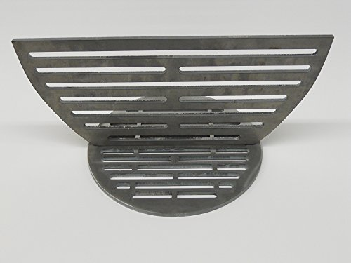 Big Green Egg Primo Kamado Style Ceramic Grill Smoker Charcoal Ash Grate for Improved Air Flow and Firebox Divider