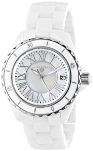 "Swiss Legend Women's 20050-WWSR ""Karamica Collection"" White Ceramic Bracelet Watch"