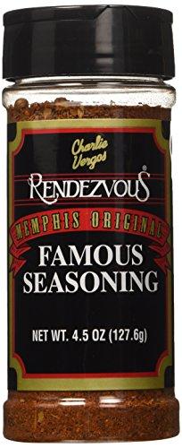 Charlie Vergos Rendezvous Famous Seasoning 4.5oz Bottle (Pack of 3) (Rendezvous Seasoning compare prices)