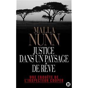 Justice dans un paysage de rêve