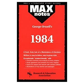 "Cover of ""George Orwell's 1984 (Max Notes..."