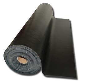 Hochwertiges Kunstleder schwarz 100 x 140 cm, 1,25 mm stark, mit hoher Abriebfestigkeit (13,67 EUR/qm)