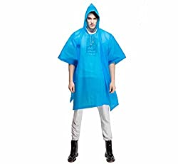 Romano PVC Waterproof Rain Ponchos Raincoat Rainwear Hooded Camping