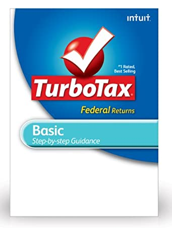 TurboTax Basic Federal + E-File 2012 for PC [Download]