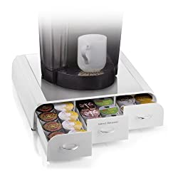 "Mind Reader ""Anchor"" Coffee Pack Drawer for Keurig Vue Packs, Keurig K-Cups, Nespresso Capsules, CBTL/Verismo Pods or Tassimo T-Discs from EMS Mind Reader LLC"