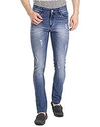 Fever Men's Jeans (211677-3-34_Light Blue)