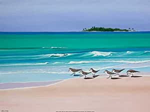 John Ketley - Sand Darlings Fine Art Print (81.28 x 60.96 cm)