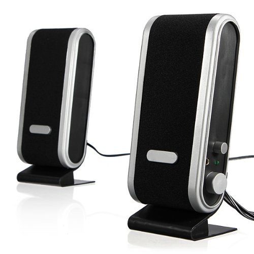3.5Mm Earphone Jack 120W Usb Powered Multimedia Stereo Desktop Computer Speakers System For Pc Laptop Mac