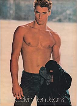 -Page Magazine Advertisement SHIRTLESS MALE MODEL Loose Leaf – 1980