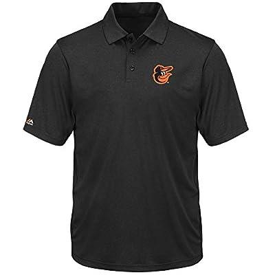 Men's Baltimore Orioles Polo Short Sleeve Synthetic Tee