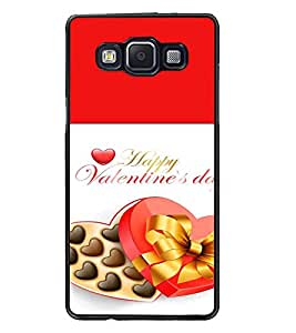 PrintDhaba Valentines Day D-4727 Back Case Cover for SAMSUNG GALAXY E5 (Multi-Coloured)
