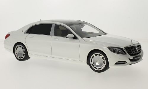 mercedes-maybach-s-classe-s600-swb-metallic-weiss-noire-2015-voiture-miniature-miniature-deja-montee