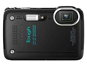 Olympus TG-630 Digitalkamera (16 Megapixel, 5-fach opt. Zoom, 7,6 cm (3 Zoll) LCD-Display, Full HD, GPS, Wasserdicht bis 5m) schwarz