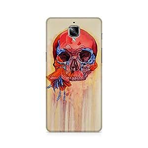 Mobicture Skull Art Premium Printed Case For OnePlus Three