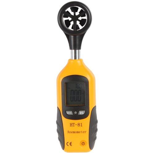 Origlam® High Sensitive Lcd Display Digital Anemometer & Thermometer With Vane Sensor